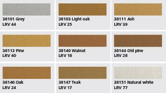 StoVeneer Wood colour shades