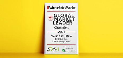 Η Sto ηγέτης της Παγκόσμιας αγοράς και το 2021