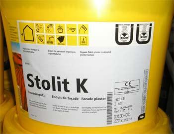 έτοιμος οργανικός σοβάς Stolit σήμανση CE marking